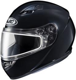 HJC CS-R3 Snow (Dual Lens) Solid Gloss Black Helmet