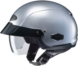 HJC IS-CRUISER Solid Gloss Silver Helmet