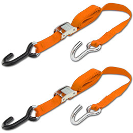 Progrip Powersports Motorcycle Tie Down Straps Lab Tested (2 Pack)