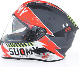 Suomy Speedstar Propeller Red Helmet