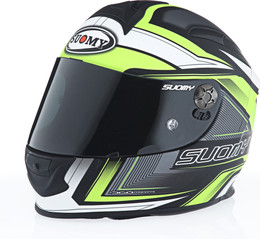 Suomy SR Sport Engine Matte Hi-Viz Helmet