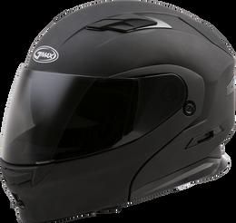 Gmax MD-01 Modular Solid Helmet Matte Black size Large