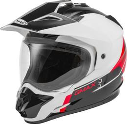 Gmax GM-11 Dual-Sport Scud Helmet Red
