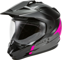 Gmax GM-11 Dual-Sport Scud Helmet Pink