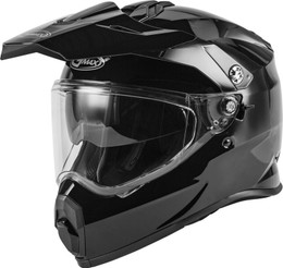 Gmax AT-21 Adventure Helmet Black
