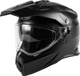 Gmax AT-21 Adventure Helmet Matte Black