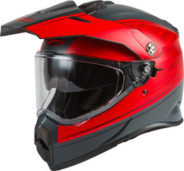 Gmax AT-21 Adventure Raley Helmet Matte Red