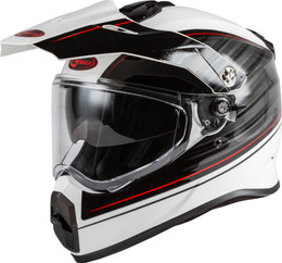 Gmax AT-21 Adventure Raley Helmet Red White