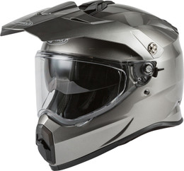 Gmax AT-21 Adventure Helmet Titanium