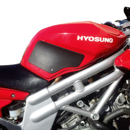 TechSpec Snake Skin Gripster Tank Grip for HYOSUNG COMET GTR 650 04-CURRENT