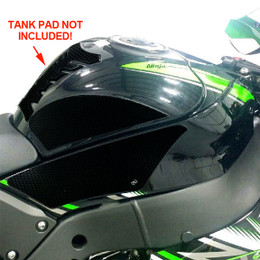 TechSpec X-Line Gripster Tank Grip for Kawasaki ZX10 16-CURRENT