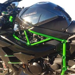 TechSpec Snake Skin Gripster Tank Grip for Kawasaki Ninja H2 15-CURRENT