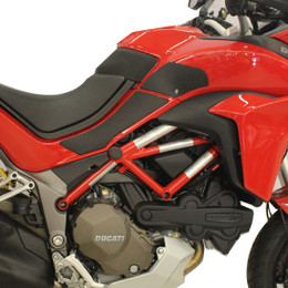 TechSpec Snake Skin Gripster Tank Grip Ducati MULITSTRADA 1200 / DAIR / PP 15-19