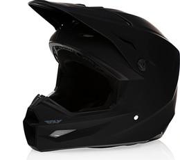 Fly Racing Kinetic Solid Helmet Matte Black
