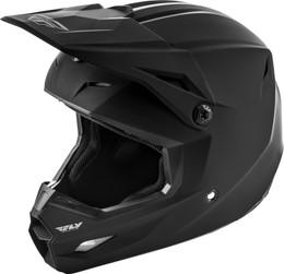 Fly Racing Youth Kinetic Solid Helmet Matte Black