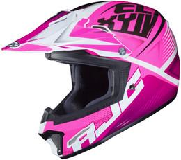 HJC CL-XY 2 Ellusion Pink Youth Helmet