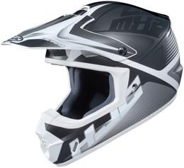 HJC CS-MX 2 Ellusion Grey White Helmet