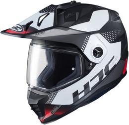 HJC DS-X1 Tactic Red Helmet