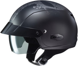 HJC IS-CRUISER Punisher Grey Helmet