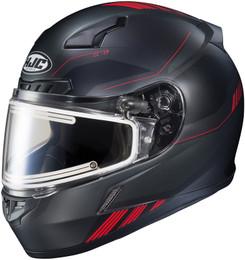 HJC CL-17 Combat Snow Elec Red Helmet