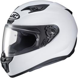 HJC i10 Solid Gloss White Helmet