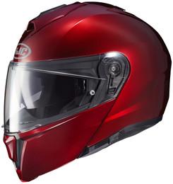 HJC i90 Wine Red Helmet