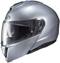 HJC i90 Gloss Silver Helmet