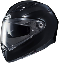 HJC F70 Solid Gloss Black Helmet
