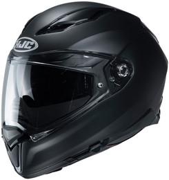 HJC F70 Solid Matte Gloss Black Helmet