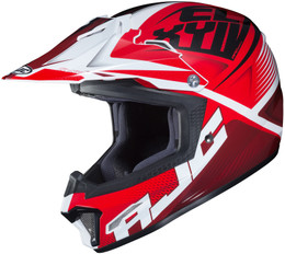 HJC CL-XY 2 Ellusion Red White Youth Helmet