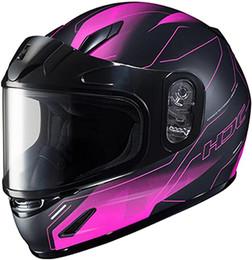 HJC CL-Y Taze Snow Pink Helmet