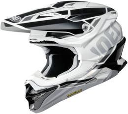 Shoei VFX-EVO ALLEGIANT TC-6 White Helmet