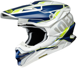 Shoei VFX-EVO ALLEGIANT TC-3 Yellow Helmet