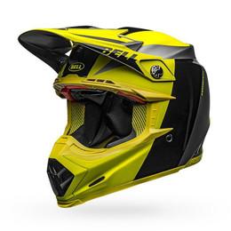 Bell Moto-9 Flex Helmet Division Matte/Gloss Black/Hi-Viz/Gray