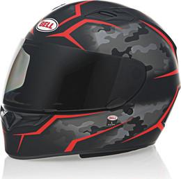 Bell Qualifier Helmet Stealth Camo Matte Black/Red