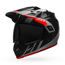 Bell MX-9 Adventure MIPS Helmet Dash Gloss Black/White/Orange