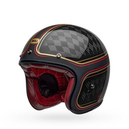 Bell Custom 500 Carbon Cruiser Helmet RSD Checkmate Black/Gold