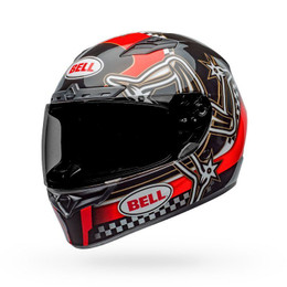 Bell Qualifier DLX MIPS Helmet Isle of Man 2020 Gloss R/B/W