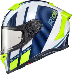 Scorpion EXO-R1 Corpus Air Helmet Blue