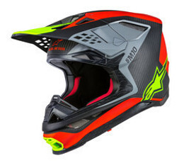 Alpinestars ANAHEIM 1 M-10 RED/BLACK/YELLOW Helmet