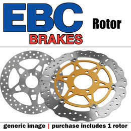 EBC Oversize Cntr Brake Disc Rotor Kit OSX6264