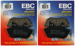 EBC Organic Brake Pads FA400 (2 Packs - Enough for 2 Rotors)