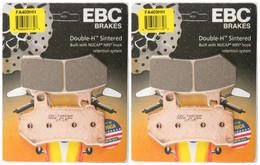 EBC Double-H Sintered Metal Brake Pads FA409HH (2 Packs - Enough for 2 Rotors)