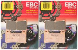 2 Packs - Enough for 2 Rotors EBC Double-H Sintered Metal Brake Pads FA380HH