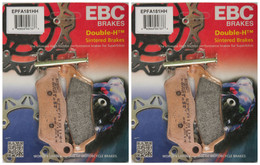 EBC Double-H Sintered Metal Brake Pads EPFA181HH (2 Packs - Enough for 2 Rotors)