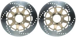 EBC Street Brake Disc Rotors MD647X (2 Rotors - Bundle)