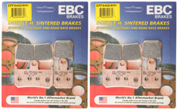 EBC Double-H Sintered Metal Brake Pads EPFA442 4HH (2 Packs Enough for 2 Rotors)