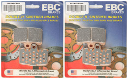 EBC Double-H Sintered Metal Brake Pads EPFA454 4HH (2 Packs Enough for 2 Rotors)