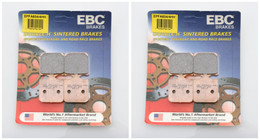 EBC Brake Pads EPFA604/4HH (2 Packs - Enough for 2 Rotors)