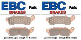 EBC Double-H Sintered Metal Brake Pads FA218HH (2 Packs - Enough for 2 Rotors)